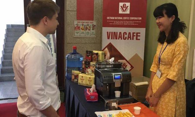 Bên lề Hội nghị thượng đỉnh Mỹ -Triều: Cà phê Đăk Hà – Vinacafe chinh phục trái tim giới báo chí, truyền thông quốc tế